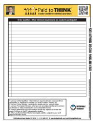 L-PTT-03-090 Identify Order Qualifiers