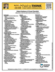 L-PTT-08-040 Global Guidance and Travel Checklist