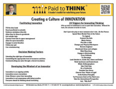 L-PTT-12-030 Creating a Culture of Innovation