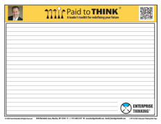 L-PTT-15-020  Enterprise Thinking Note Page
